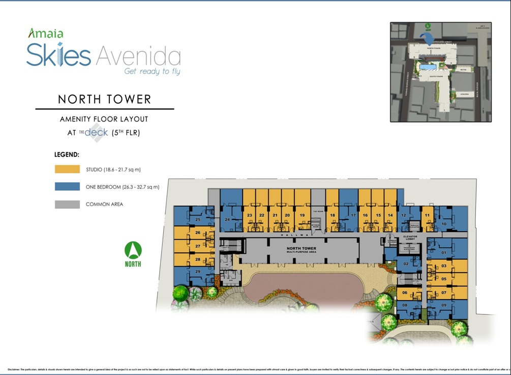 Floor Plans And Layouts Amaia Skies Avenida Condo